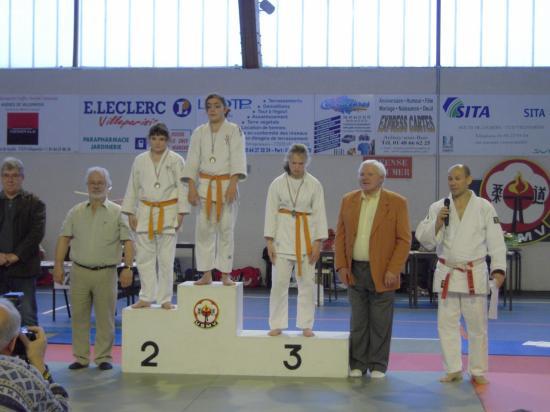 podium benjamines -55kg