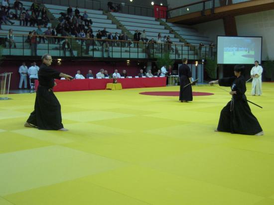 Démonstrations de katas de disciplines associées