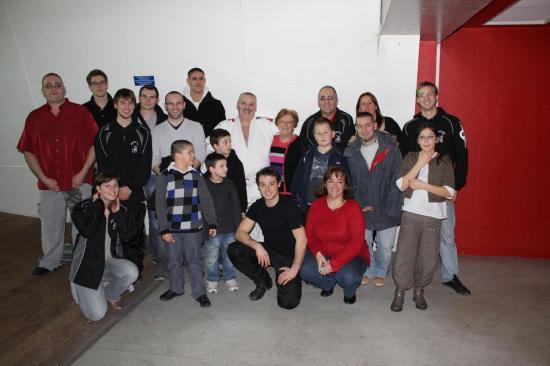 Domingo et des membres du club